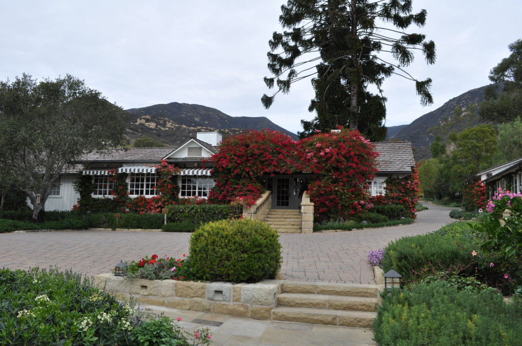 Main Building at San Ysidro Ranch