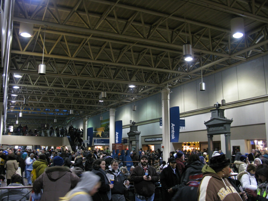 Amtrak DC Boarding Area